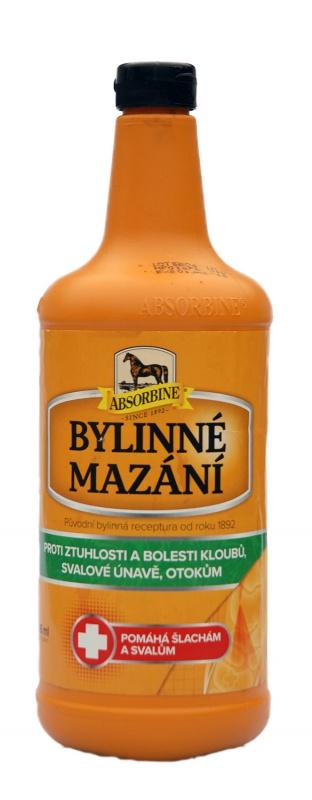 Absorbine Bylinné mazání na bolest s dlouhotrvajícím účinkem, láhev 946 ml