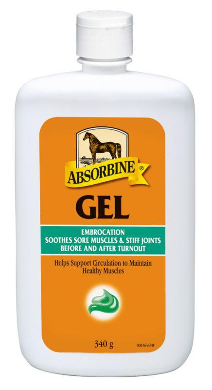 Absorbine Bylinné mazání gel pro bolavé svaly, šlachy a klouby, láhev 340 g