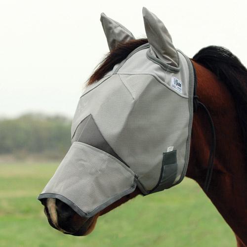 Maska Cashel Crusader Long s prodloužením na nos a s ušima
