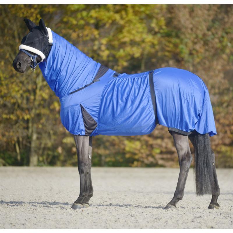 Ekzémová deka pro muchaře Waldhausen barva královská modř