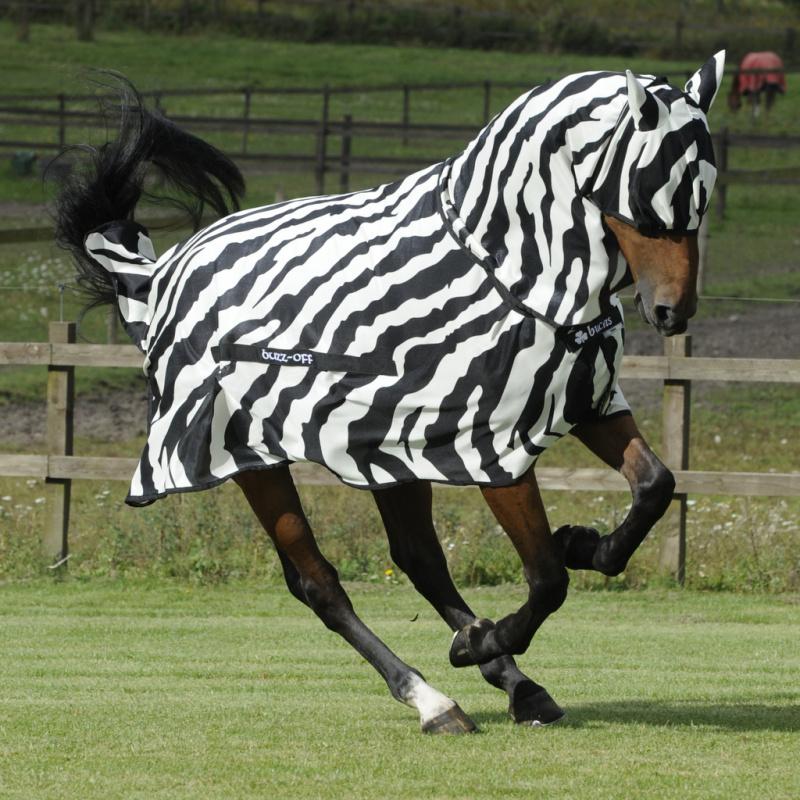 Bucas BuzzOff Zebra maska proti hmyzu zebrovaná