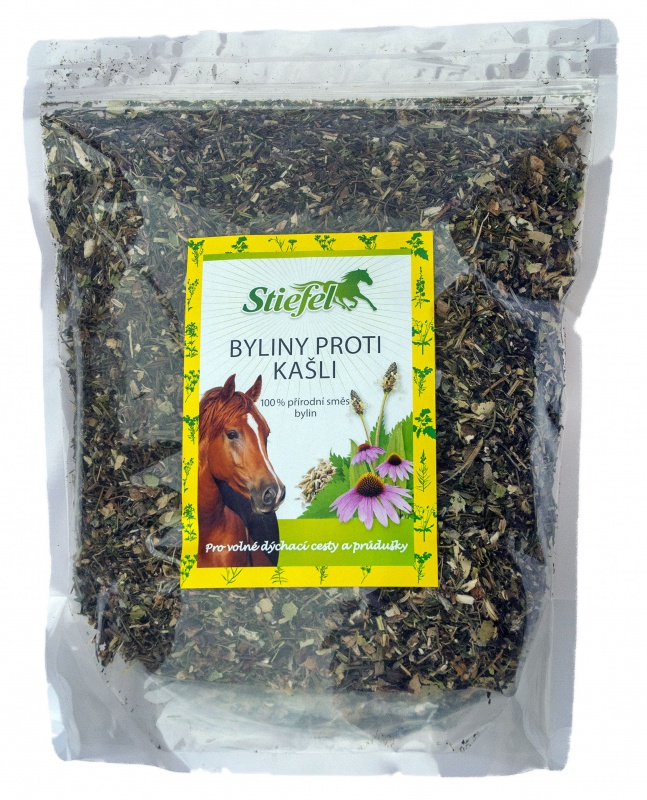 Směs bylin pro koně na kašlík, sáček 1kg