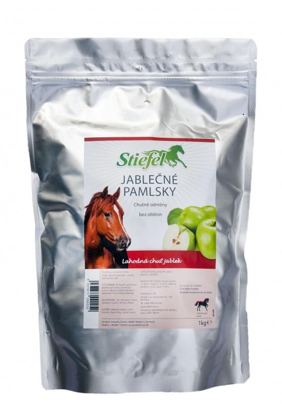 Stiefel Jablečný pamlsek, chutná a zdravá odměna pro koně, sáček 1 kg