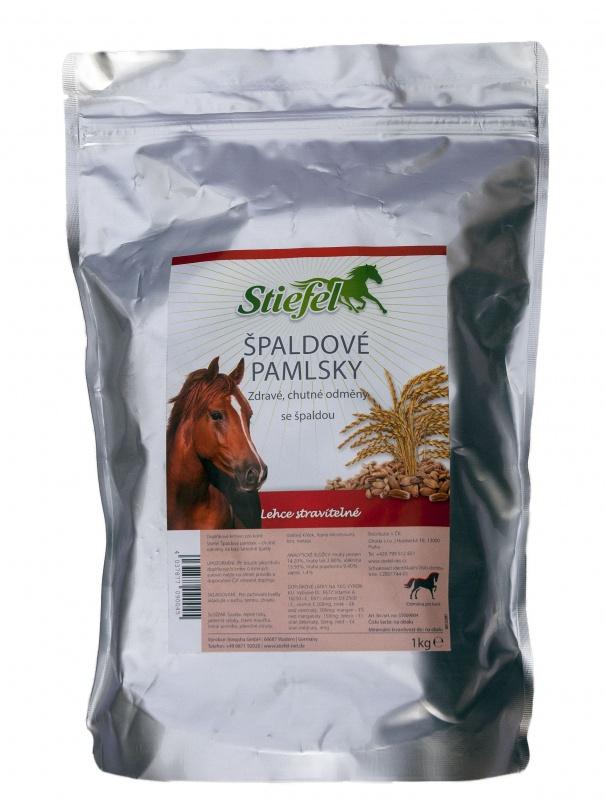 Stiefel Špaldový pamlsek, chutná a zdravá odměna pro koně, sáček 1 kg