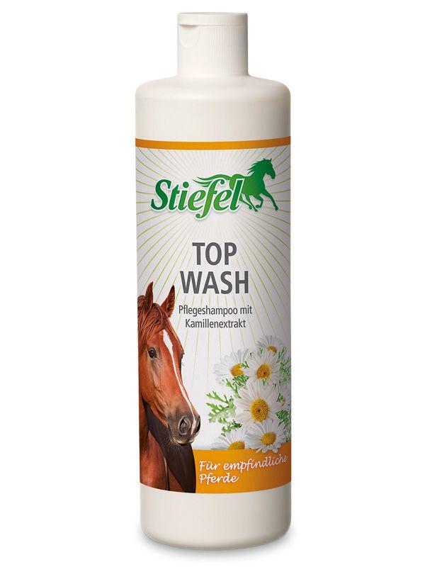 Stiefel Top wash, šampón pro citlivé koně, láhev 500 ml
