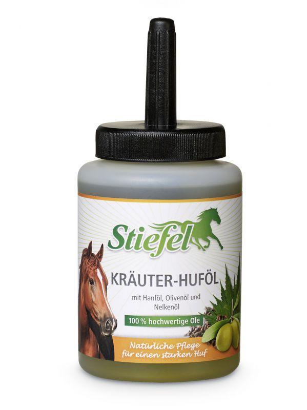 Stiefel Bylinný olej na kopyta na přírodní bázi, zdravá péče o kopyta, nádobka se štětcem 450 ml