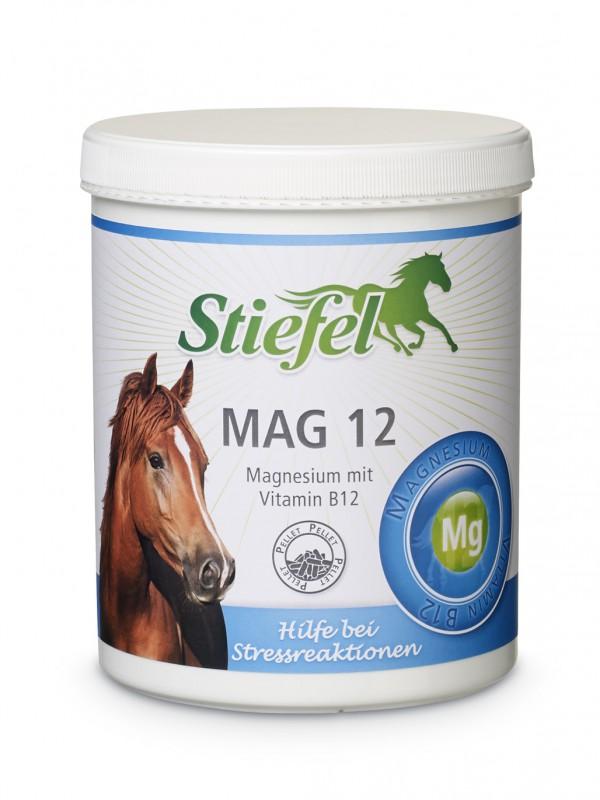 Stiefel Mag 12 proti stresu a na zklidnění, kyblík 1 kg pelety