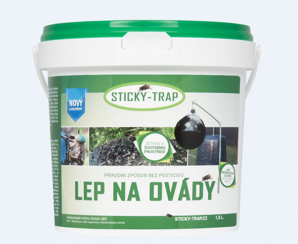 Sticky trap Past na ovády 1,5l