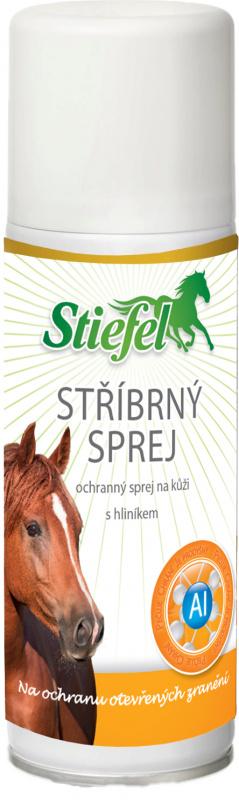 Stiefel Stříbrný sprej na ochranu a dezinfekci otevřených ran, sprej 200 ml