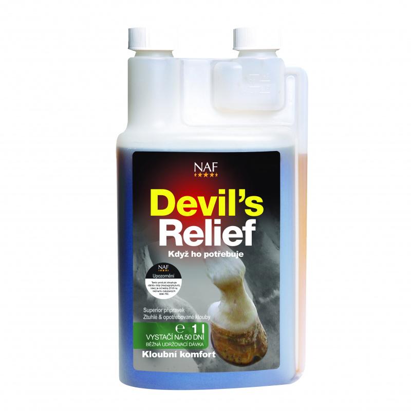 NAF Devil's Relief - Čertův dráp (tekutý) 1l
