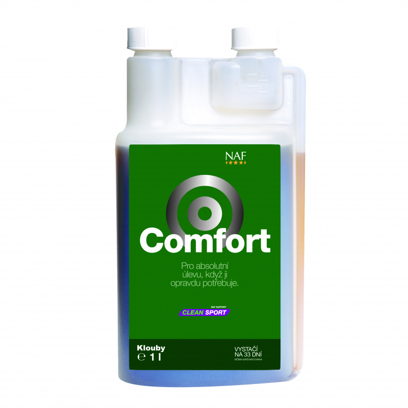 NAF Comfort, láhev s dávkovačem 1000ml