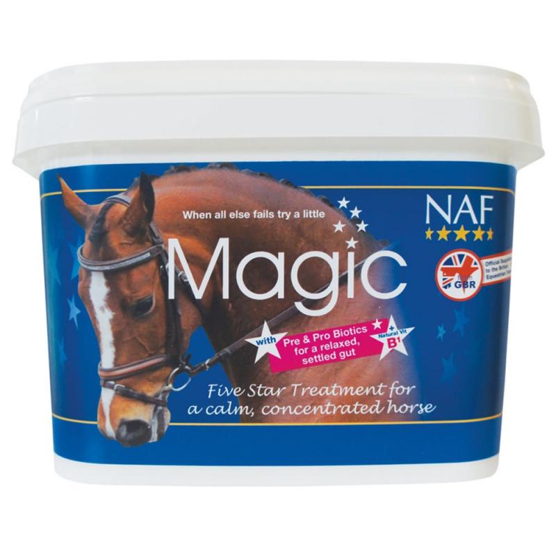 Magic powder, prášek na zklidnění a koncentraci