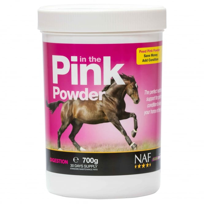 NAF In the Pink powder, probiotika s vitamíny pro skvělou kondici, kyblík 1,4 kg