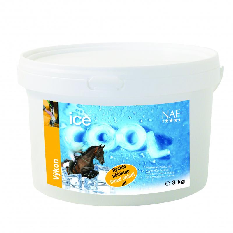 NAF Ice cool, chladivý jíl s minerály na unavené nohy, kyblík 3kg