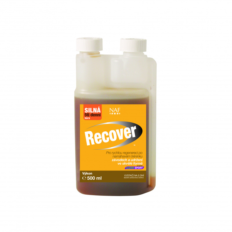Recover pro zotavení po náročném výkonu