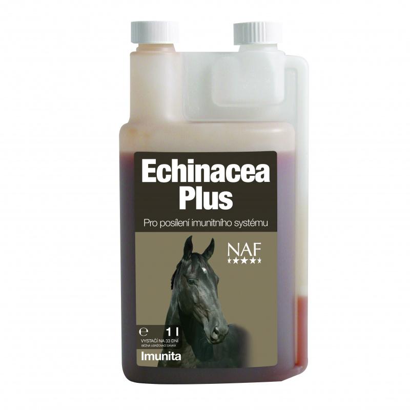 NAF Echinacea plus, tekutá podpora imunitního systému s přírodním vitamínem C 1l