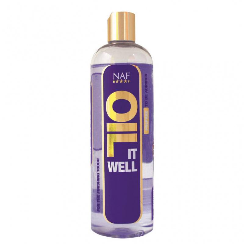 Oil it well rozjasní ta nejdůležitější místa na srsti