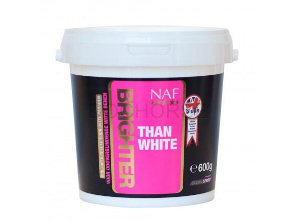 NAF Brighter than white, pudr pro perfektní bílou, kyblík 600g
