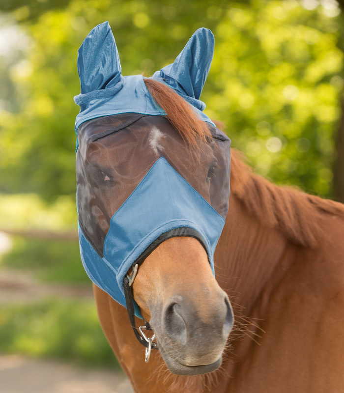 Maska Waldhausen Premium modrá s ušima