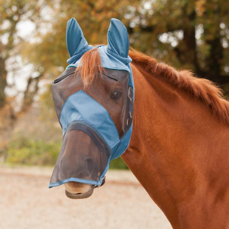 Maska Waldhausen Premium modrá s ušima a nosem