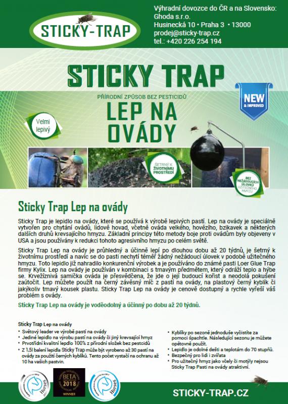 Katalog Sticky Trap Pasti na ovády