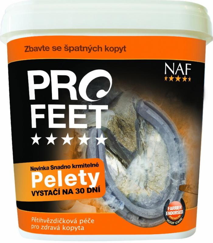 Pro Feet pellets pro zdravá kopyta s biotinem