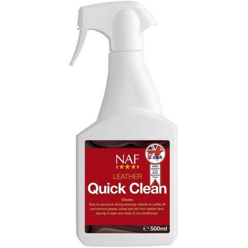 NAF Quick Clean pro rychlé čištění kůže, láhev s rozprašovačem 500ml