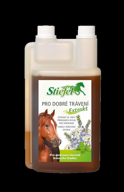 Tekutý bylinný extrakt Pro dobré trávení Stiefel