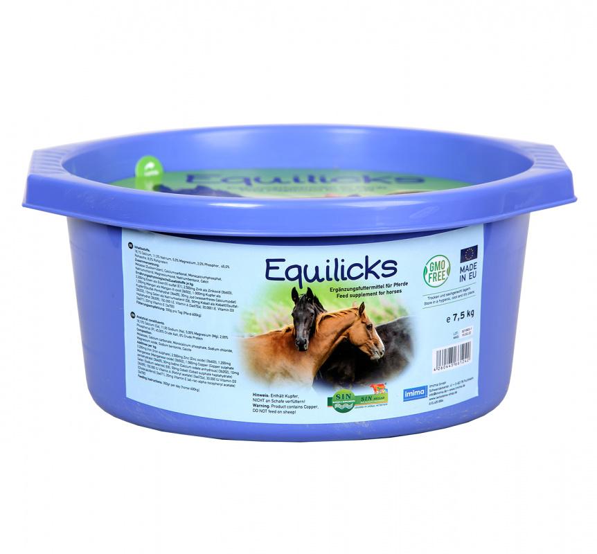 Equilix - přírodní minerální liz pro koně
