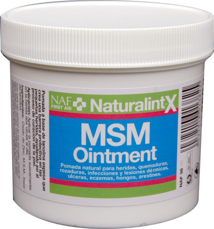 NAF MSM ointment, hojivá mast na poškozenou kůži, balení 250g