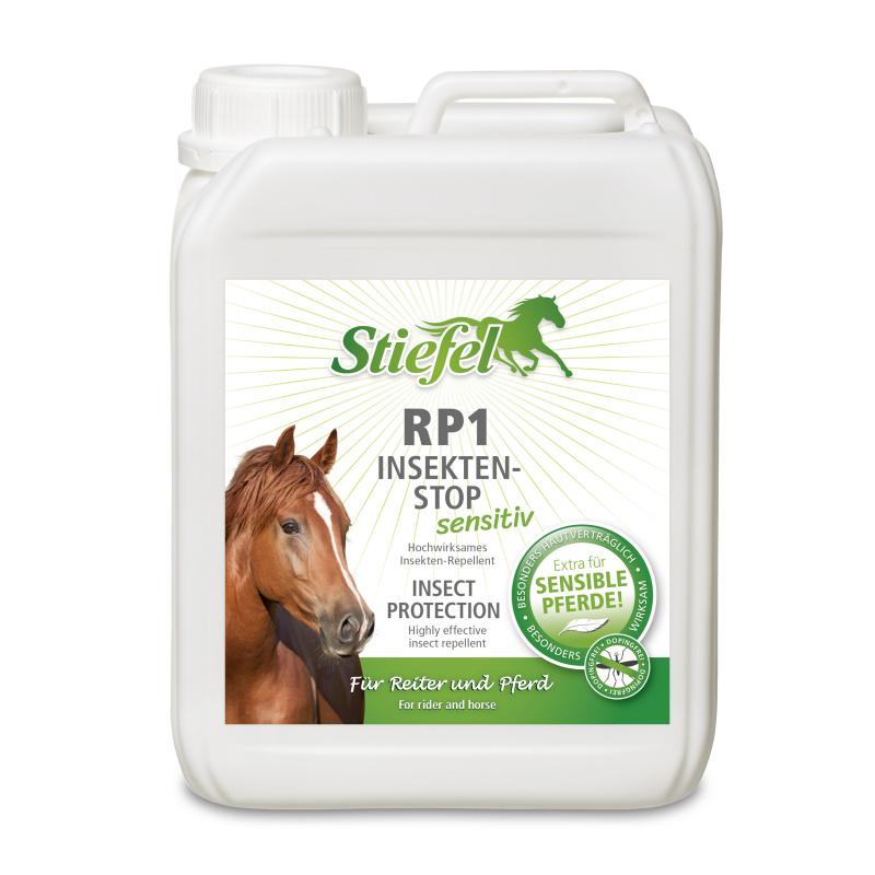 Repelent RP1 Sensitive ekonomické balení - Sprej bez alkoholu pro koně s citlivou kůží