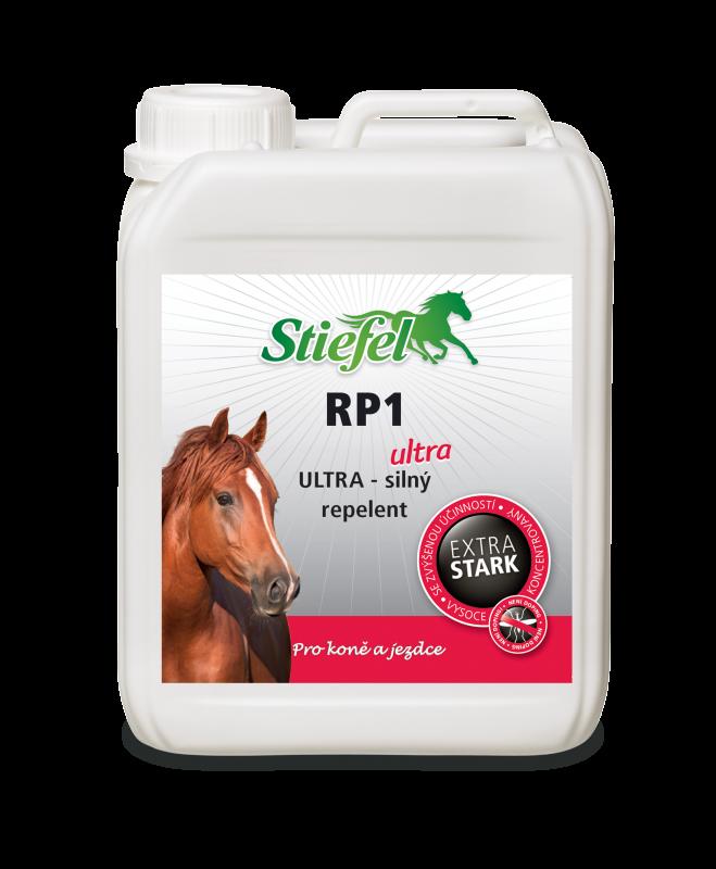 Repelent RP1 Ultra - ekonomické balení, ultrasilný sprej pro koně a jezdce
