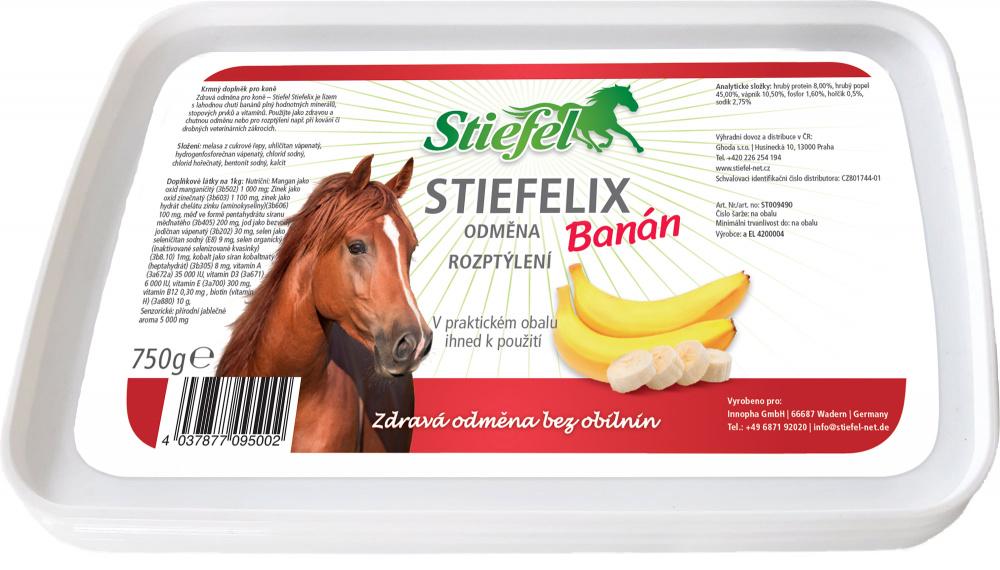 Stiefel Liz s vitamíny a minerály banánový