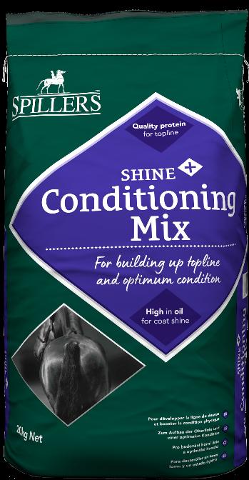 Spillers Shine+ Conditioning Mix, müsli pro nabrání a udržení svalové hmoty
