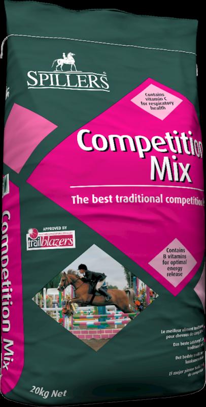 Spillers Competition mix, müsli pro všechny koně a pony v závodním režimu