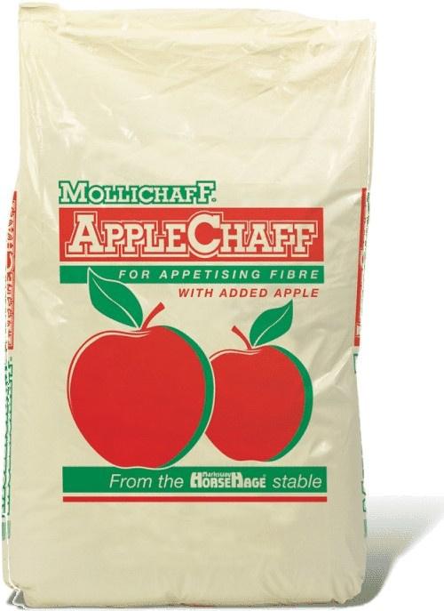 Spillers Mollichaff Applechaff, řezanka s opravdovými kousky jablek pro obtížně krmitelné koně