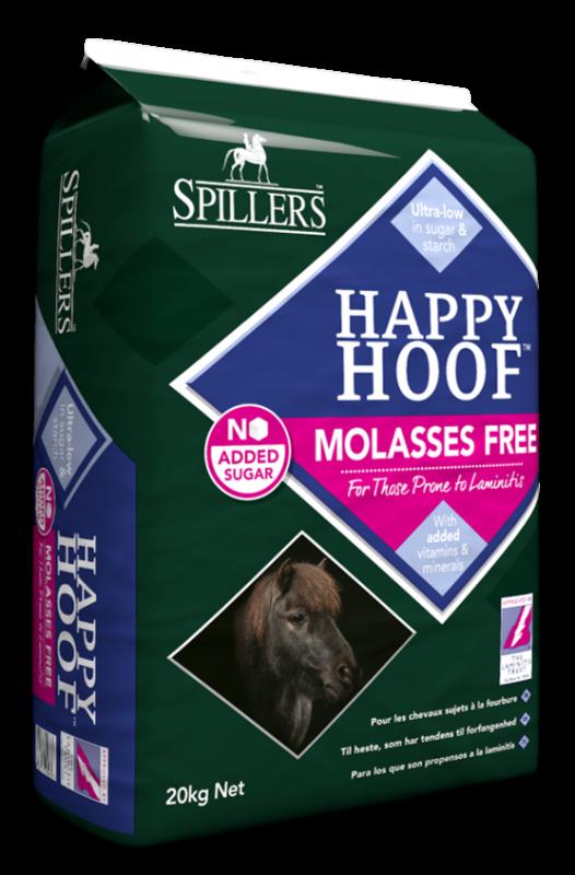 Happy Hoof bez přidané melasy pro koně náchylné k laminitidě