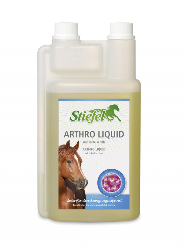 Stiefel Arthro liquid při problémech s klouby, šlachami či chrupavkami