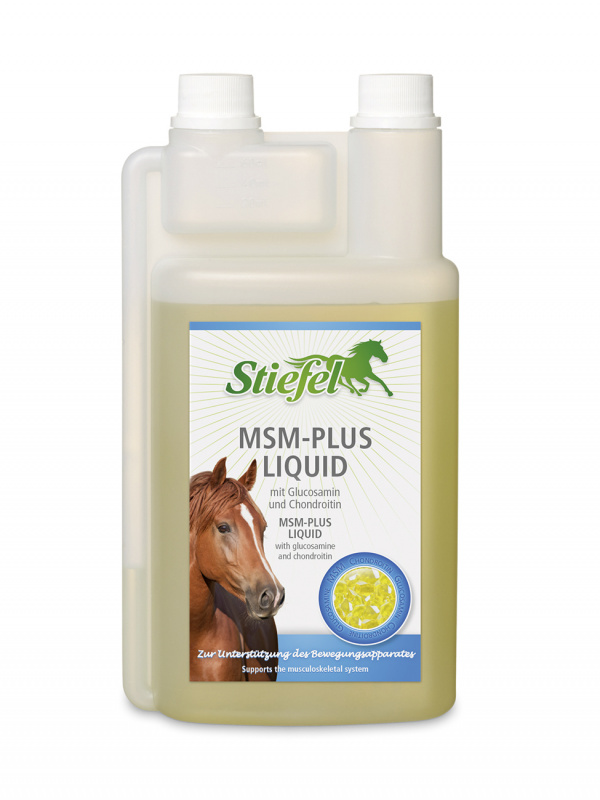 Stiefel MSM Plus liquid s MSM, glukosaminem a chondroitinem