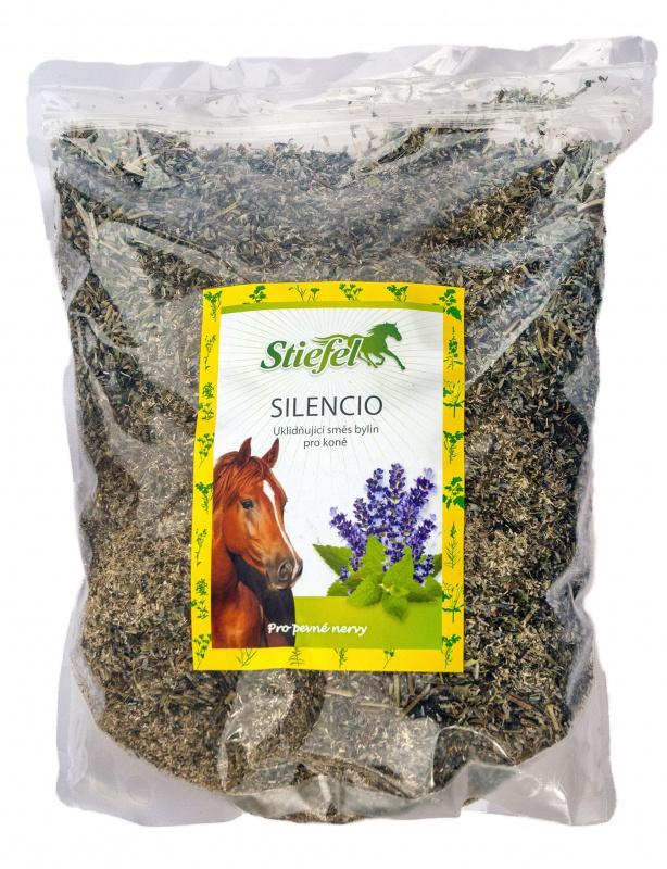 Stiefel Silencio, byliny pro pevné nervy, sáček 1 kg řezané byliny
