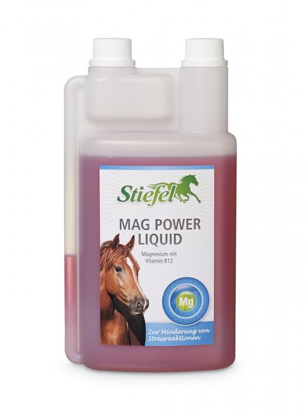 Stiefel Mag power liquid proti stresu, láhev s dávkovačem