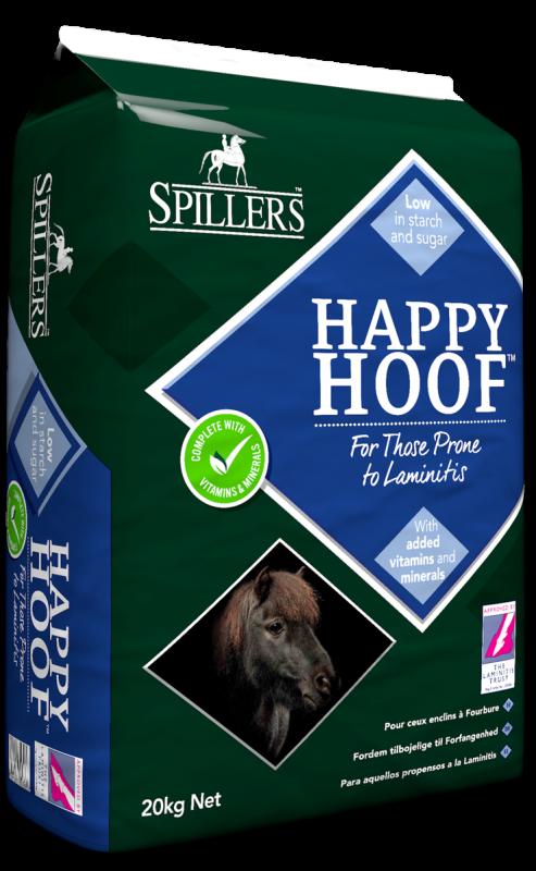 Happy Hoof řezanka pro koně náchylné k laminitidě