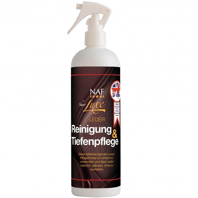 Přípravek na čištění a péči o kožené vybavení NAF Sheer Luxe Leather Cleanse Condition, láhev 500ml
