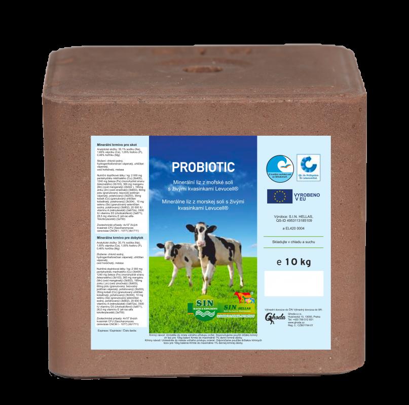 Minerální probiotický liz Probiotics