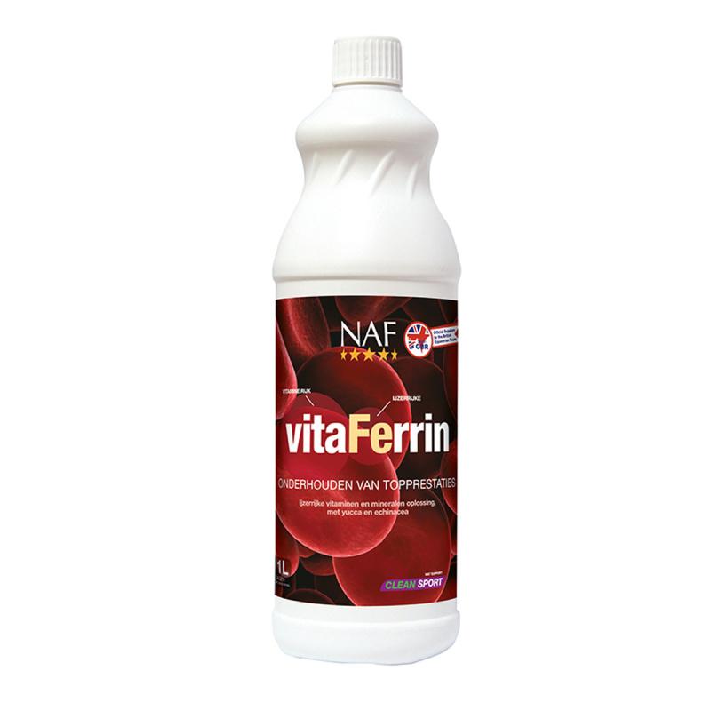 NAF VitaFerrin pro maximální výkon s pořádnou dávkou železa, láhev 1l