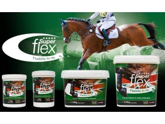 NAF SuperFlex - pro klouby koní odolávající extrémní zátěži