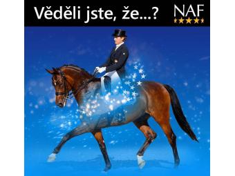 Produkty Five Star od NAFu - to nejlepší, co můžete pro svého koně sehnat