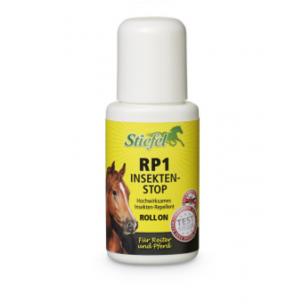 Stiefel Repelent RP1 s dlouhotrvajícím účinkem bez nepříjemného zápachu, kluička pro přesnou aplikaci Roll on 80 ml