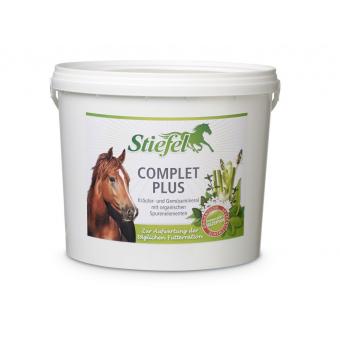 Stiefel Complet plus, kompletní minerální krmení s vitamíny na bylinné bázi, kyblík 2,5 kg