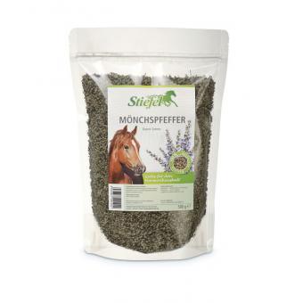 Stiefel Mnišský pepř semena celá, pro hormonální rovnováhu a regulaci estrálního cyklu, sáček 500 g